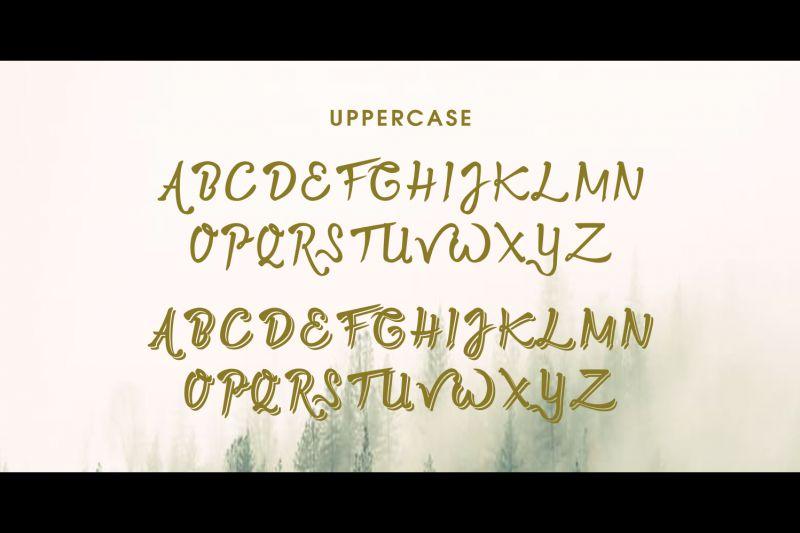 Twopath Script Font-2