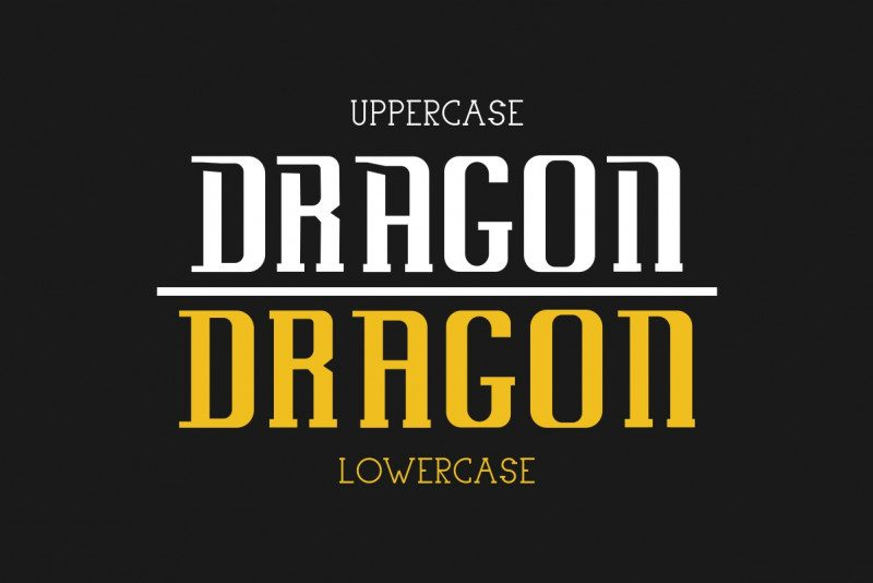 Uovo Di Drago Typeface-2