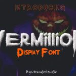 Vermillion Display Font
