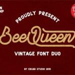 BeeQueen Script Font