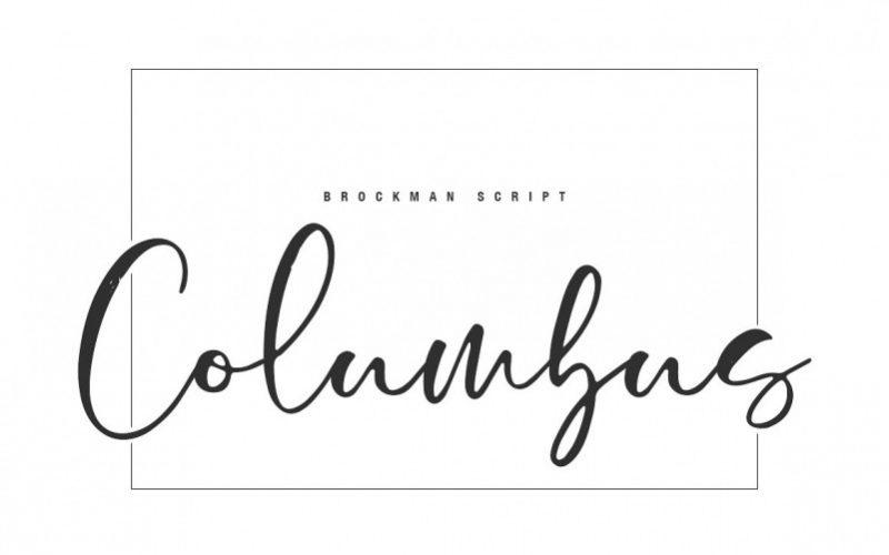 Brockman Calligraphy Font-2