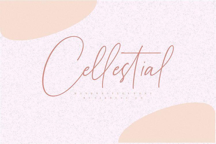 Cellestial Handwritten Font