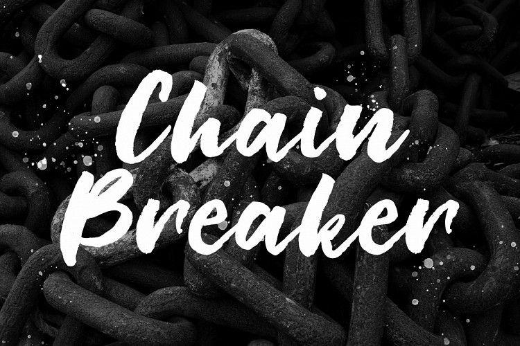 Chain Breaker Script Font