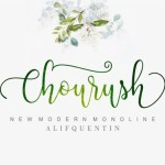 Chourush Calligraphy Font