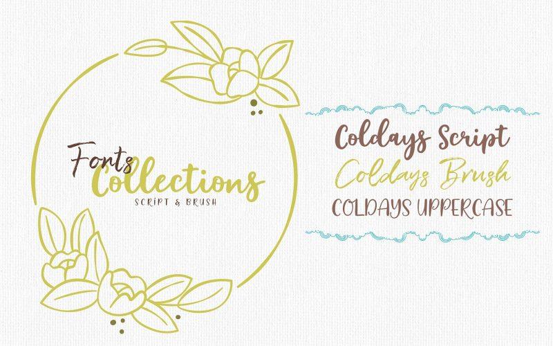 Coldays Memories Font Family-2