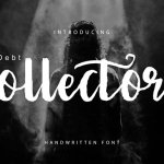 Debt Collectors Brush Font