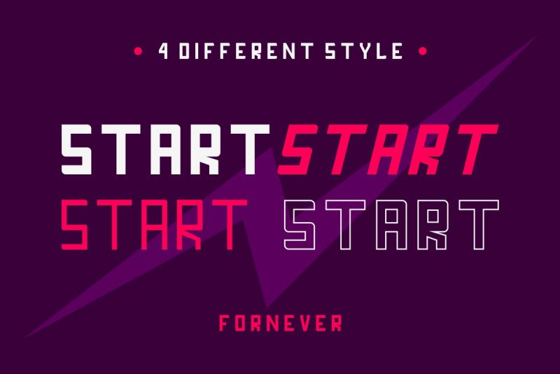 FORNEVER Typeface-3