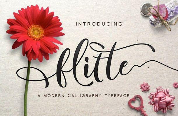 Flitte Script Font
