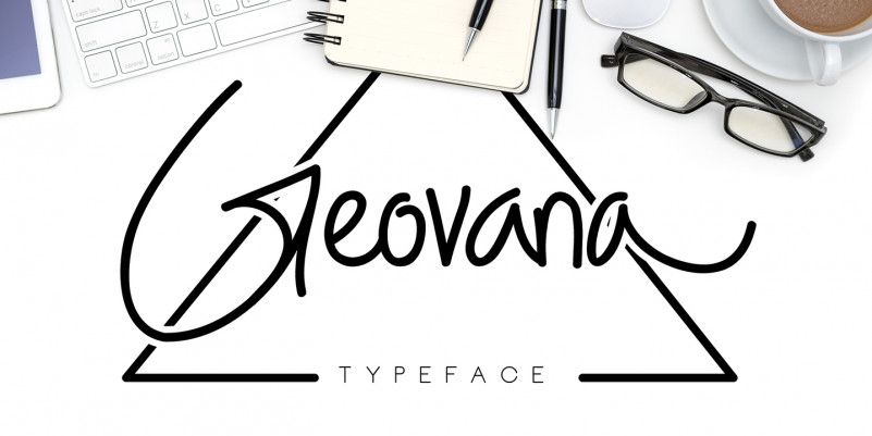 Geovana Signature Script Font