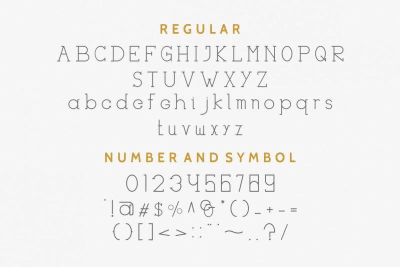 Haston Classic Font Duo-4