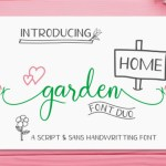 Homegarden Font Duo