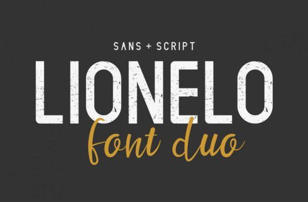 LIONELLO Special Font