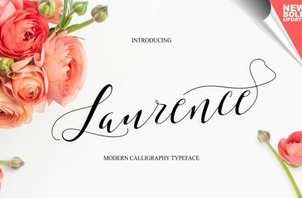 Laurence Calligraphy Font