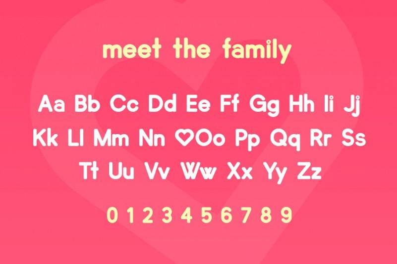 Lovebirds Sans Font-3