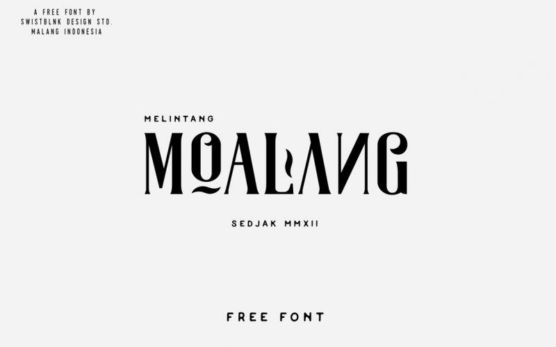 Download MOALANG TYPEFACE - Dafont Free