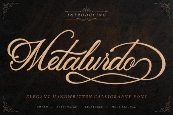 Metalurdo Script Font