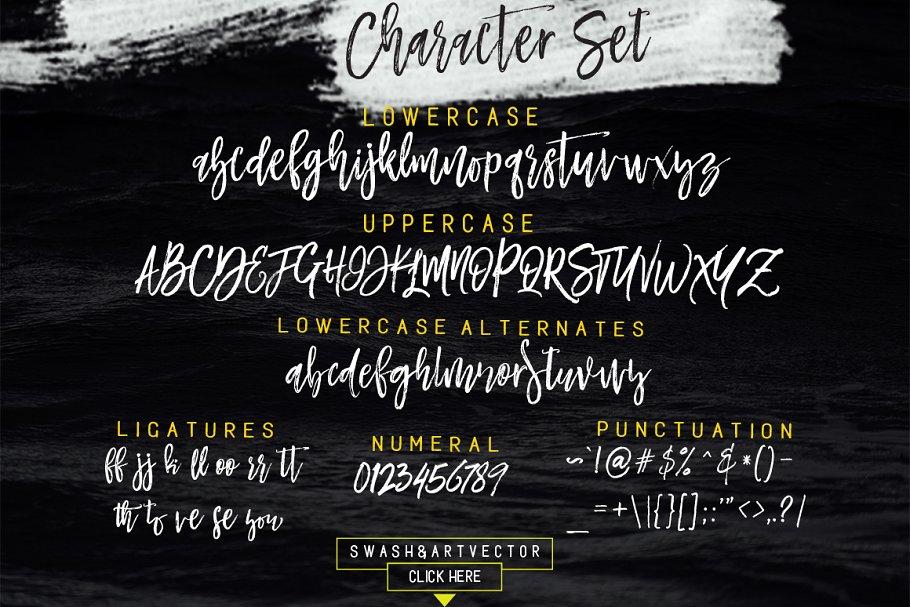 Mustache Script Font-3