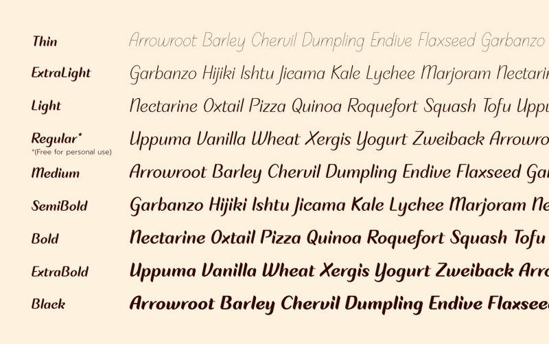Plom Praeng Script Font-4