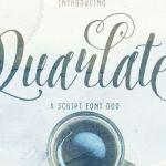 Quarlate Sans & Script Font