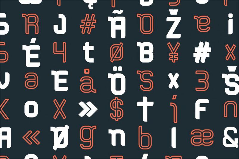 Stucker Display Font-2