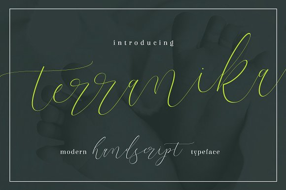 Terranika Handwriting Font