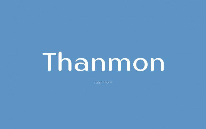 Thanmon Sans Serif Font