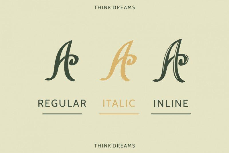 ThinkDreams Script Font-2