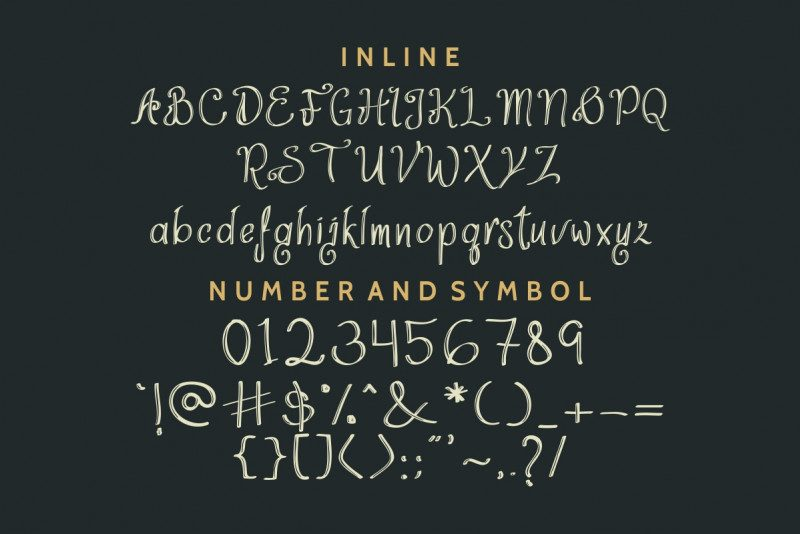 ThinkDreams Script Font-3
