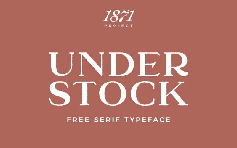 Understock Font Family