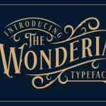 Wonderia Display Font