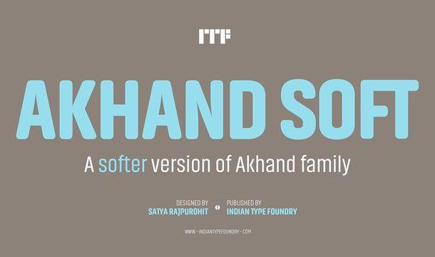 Akhand Soft Font Family