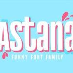 Astana Font