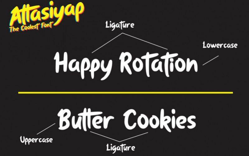 Attasiyap Script Font-2