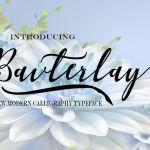 Bavterlay Font