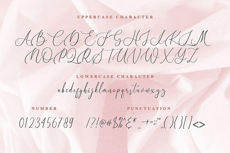Birallina Calligraphy Font-3