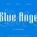 Blue Angel Blackletter Font
