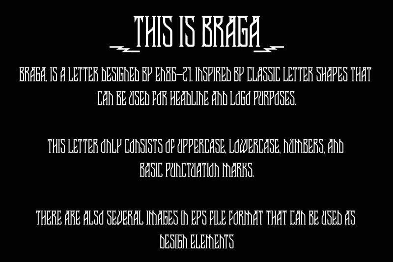 Braga Display Font-2
