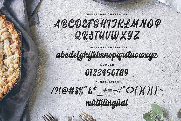 Butchery Script Font-3