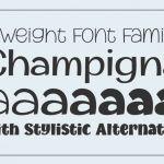 Champigna Font Family