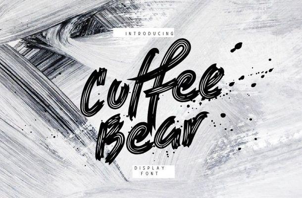 Coffee Bear Font