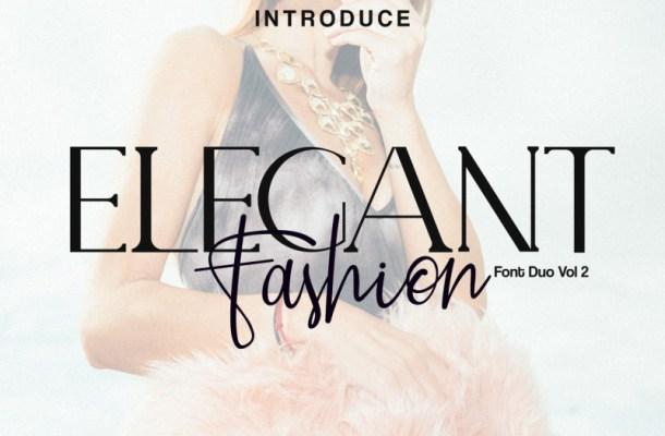 Elegant Fashion Font Duo