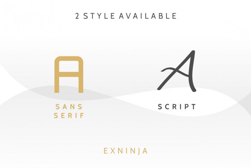 Exninja Font Duo-3