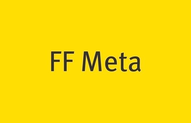 FF Meta Font
