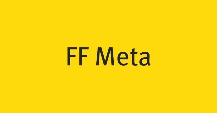 FF Meta Font-1