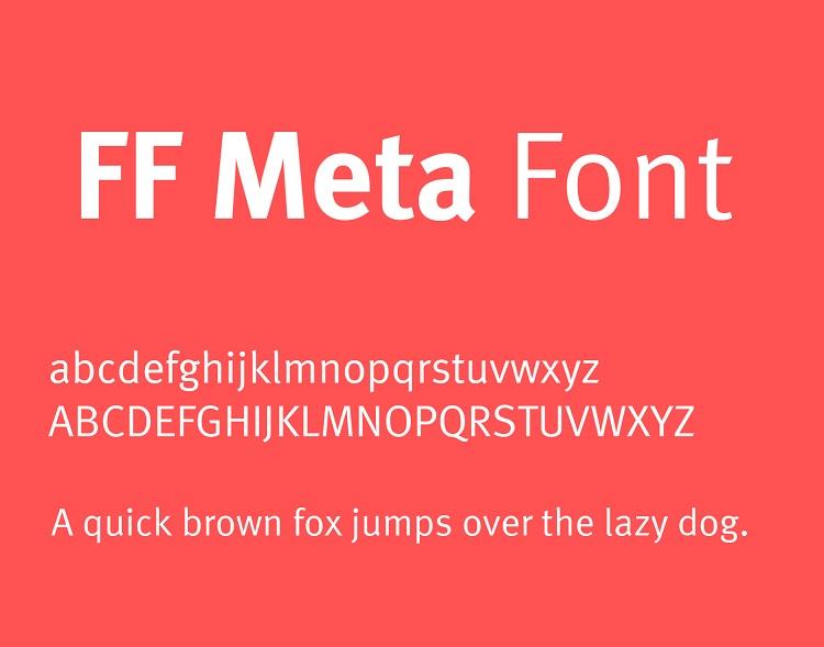 FF Meta Font-2