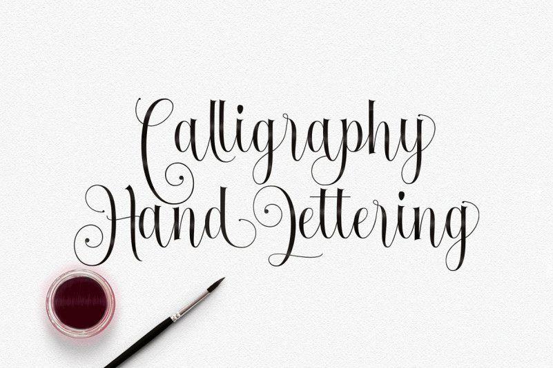 Fantastic Calligraphy Font-2