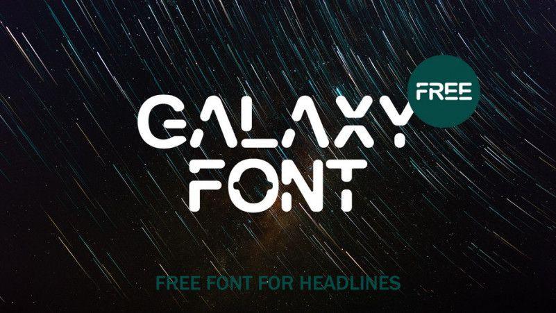 GALAXY Free Font - Dafont Free