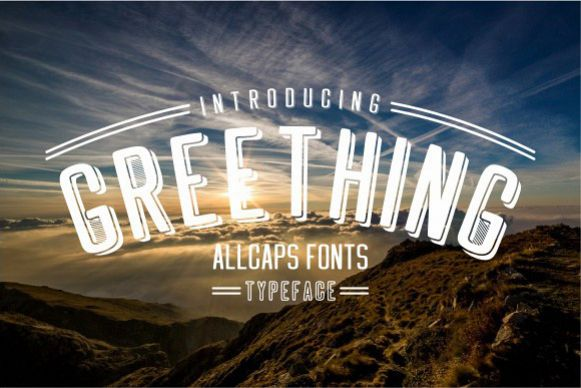Greething Sans Font