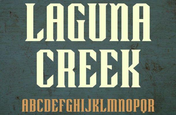 Laguna Creek Font