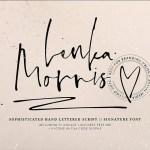 Lenka Morris Font